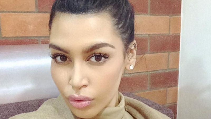 This Kim Kardashian doppelgänger on Instagram looks so much like the real thing, you'll hate her instantly.
