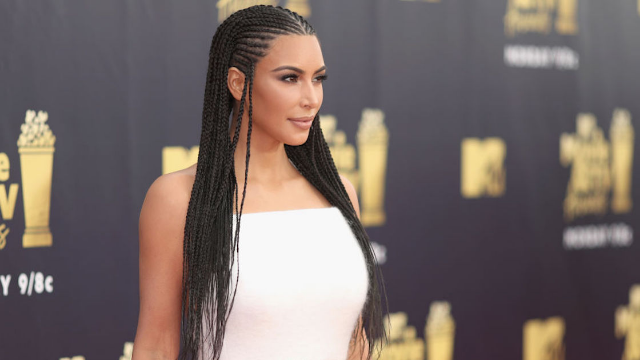Kim Kardashian defends braids, claims she's 'not tone deaf'