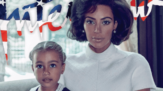 Kim Kardashian poses for Jackie O-inspired photo shoot. Twitter is deeply disturbed.