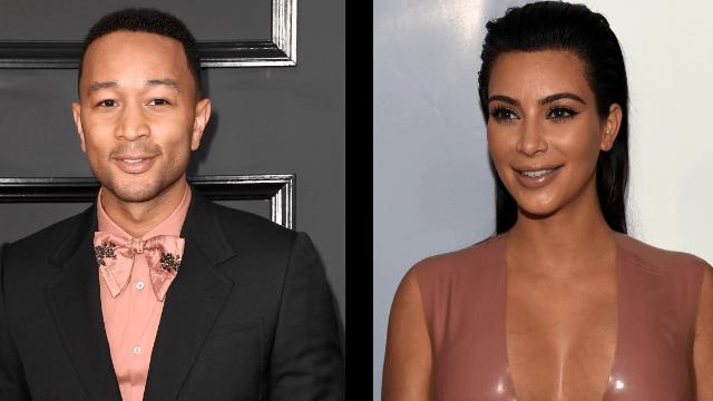 John Legend defends Kim Kardashian against Twitter troll with a clapback that would make Chrissy Teigen proud.