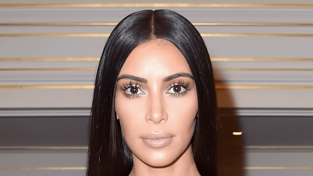 Kim Kardashian Is Covered in Glitter for Ultralight Beams