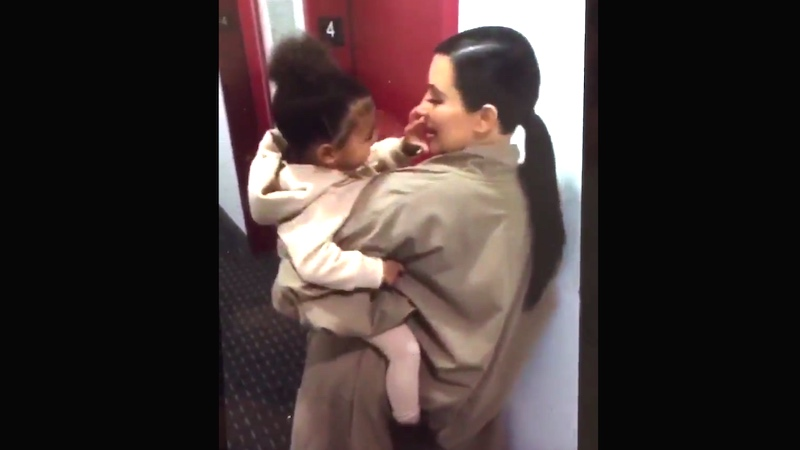 This video of Kim Kardashian and North West being cute will force you to see them as people.
