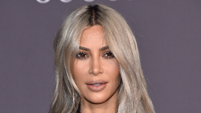 Kim Kardashian's new hair is a color you've definitely puked up before.