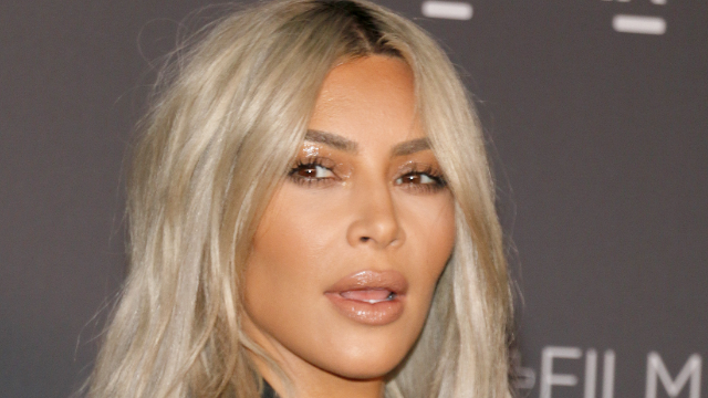 Kim Kardashian posed nude in the shape of a middle-schooler's drawing of a penis.