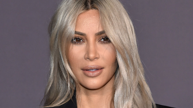 Kim Kardashian is roasting herself on Instagram, and she's not afraid to go in.