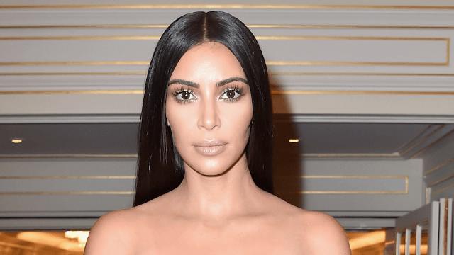 Kim Kardashian denies 'weird rumor' about being attacked on the street.