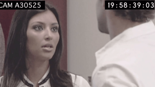 Back in the day, a thirsty Kim Kardashian was trying to get on 'The Hills.'