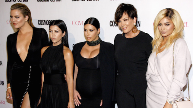 The Kardashians are clawing each others' eyes out on Twitter in real time. We can't stop watching.