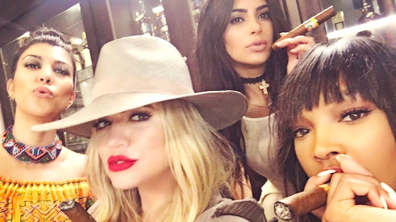 The Kardashians are in Cuba. Quick, cut diplomatic ties and lock the gates.