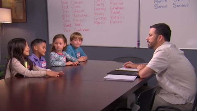 Jimmy Kimmel asked kids if a woman can be president, and their responses were hilariously sexist.