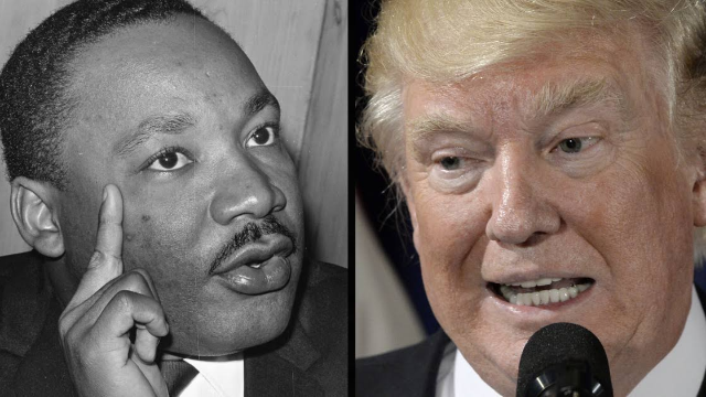 Kimmel asks people about Martin Luther King Jr's Twitter feud with Donald Trump and ohmygod it hurts to watch