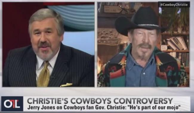 "Kinky Friedman called Chris Christie and Jerry Jones ""latent homosexuals"" during a bizarre ESPN interview."