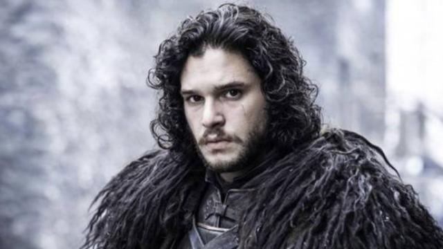 Kit Harrington basically just straight up admitting Jon Snow is [REDACTED] now.