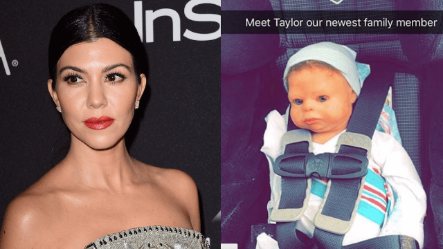 Kourtney Kardashian's new 'baby' will give you nightmares.