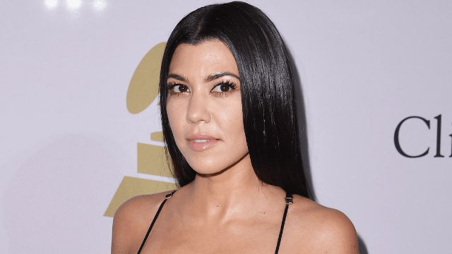 People are mom-shaming Kourtney Kardashian for letting her four-year-old wear a piece of jewelry.