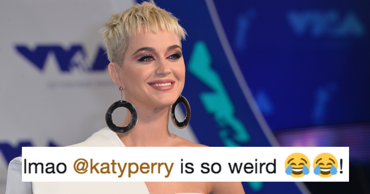 Katy Perry got suspended from Christian school for a weirdly sexual reason involving a tree.