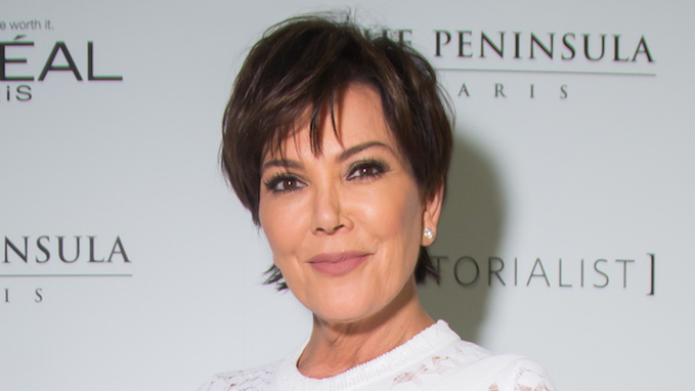 Kris Jenner is a total ice queen with her new blonde hair.