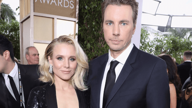Kristen Bell and Dax Shepard are arguing about a motorcycle on Instagram.