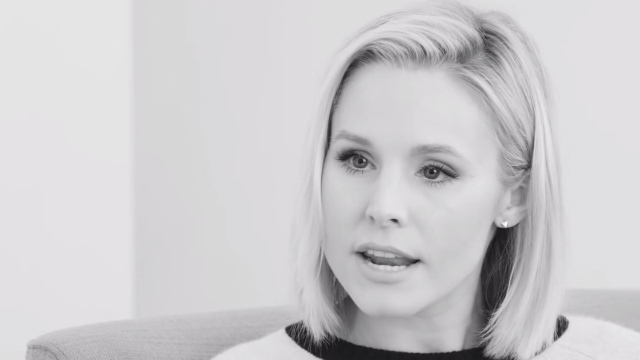 Kristen Bell says she compensates for depression, anxiety by being 'very bubbly.'
