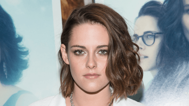 Kristen Stewart buzzed off all her hair and it looks amazing.