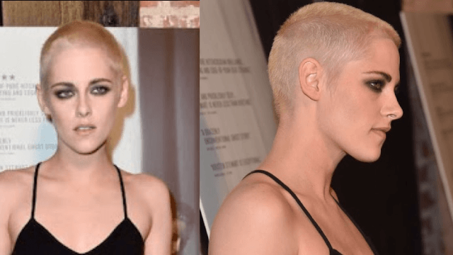 Kristen Stewart ditched her buzzcut for a new, 'traditional' hairstyle.
