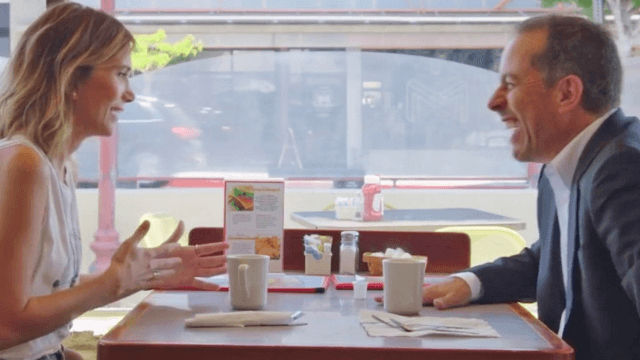 Kristen Wiig joins Jerry Seinfeld to talk 'SNL' and eating a fan's dog on 'Comedians In Cars Getting Coffee.'