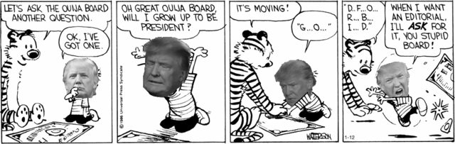 'Donald and Hobbes' is the perfect combination of your childhood and ruined adulthood.