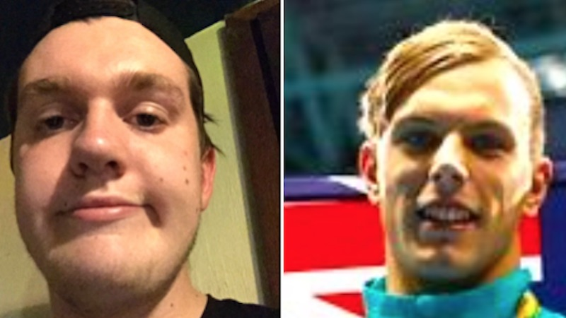Twitter congratulated the wrong Kyle Chalmers for winning gold, but he'll take it.
