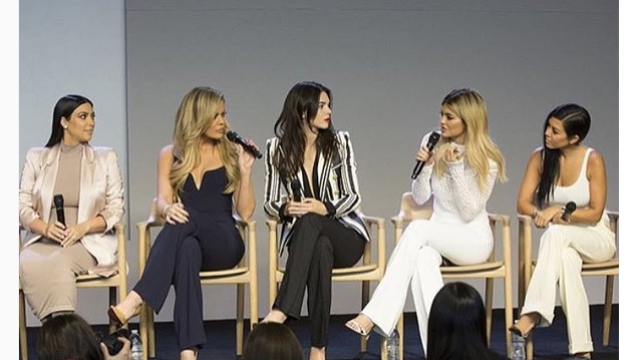 """Older Kardashians dethroned as title of """"best at Internet"""" passes to a younger Kardashian."""