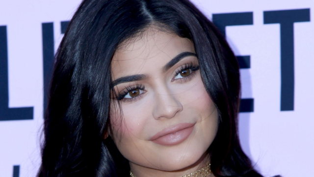 Kylie Jenner and her lips return to Instagram.
