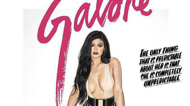 Kylie Jenner did a photo shoot with Terry Richardson and her side boob.