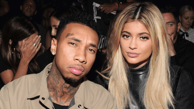 Kylie Jenner shows off the 'promise ring' she got from her boyfriend Tyga.