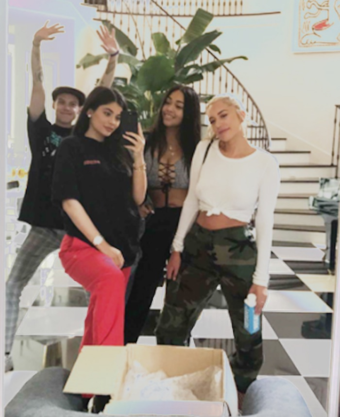 Kylie Jenner's latest Instagram has everyone scouring for pregnancy clues.
