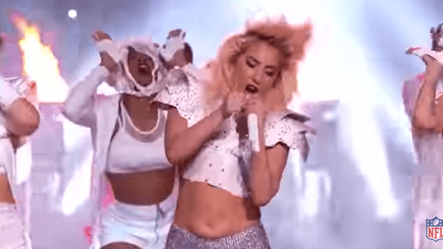 Trolls body-shamed Lady Gaga for daring to have a stomach.