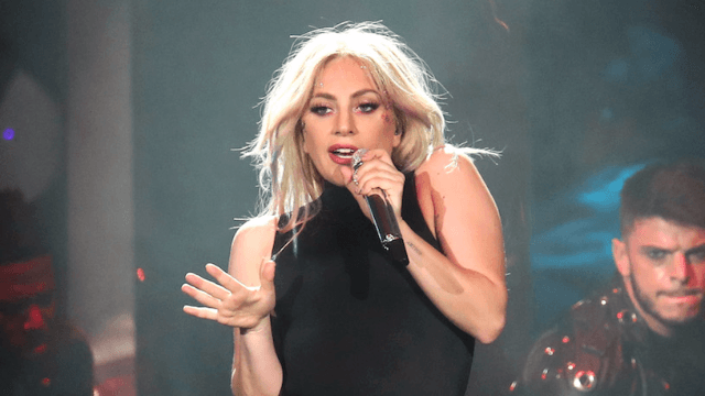 Lady Gaga's new hair color is, well, very Lady Gaga.