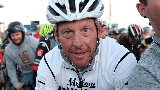Lance Armstrong had the perfect response to a fake report of his death.