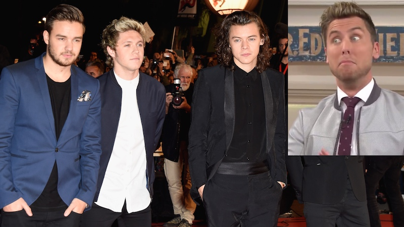 Lance Bass thinks someone else is going to leave One Direction. You already know who.
