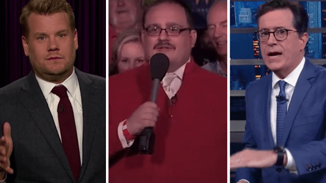 Here's how your favorite late night shows handled that 'nasty' third presidential debate.