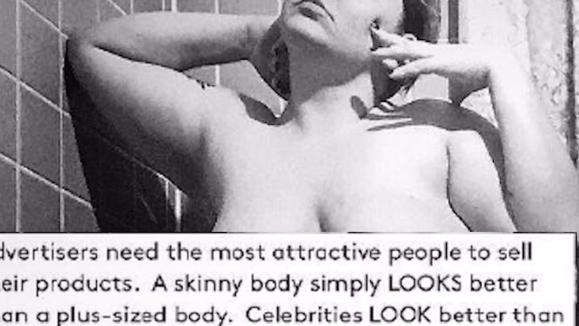Woman flips script on trolls, turns their body-shaming comments into beautiful art.