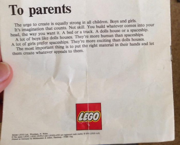 A mom called out Target for a sexist sign in the toy department.