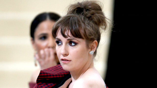 Lena Dunham defended 'Girls' writer accused of rape, people are rightfully angry.