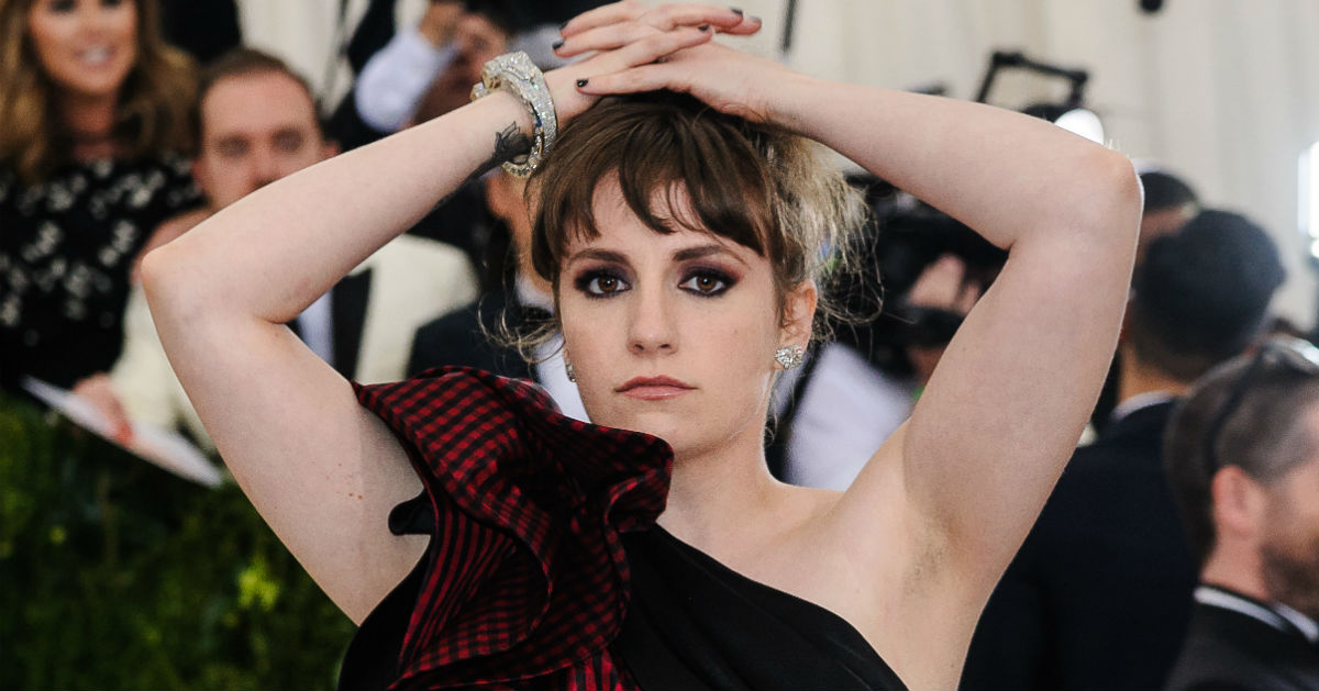 Lena Dunham shares 'reverse' before-and-after pics to prove thinner doesn't always mean happier.