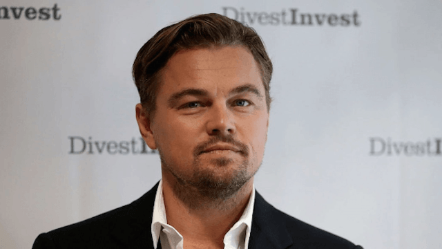Leonardo DiCaprio auctioned off a week at his house. He is presumably not included in the deal.