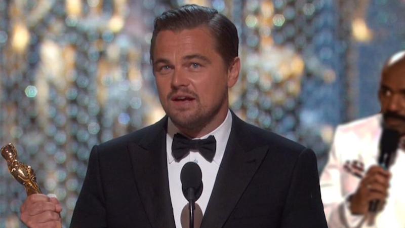 The Internet is thoroughly enjoying photoshopping Leonardo DiCaprio with his spiffy new Oscar.