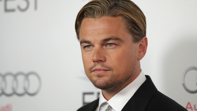Leonardo DiCaprio took a titanic shot to the face from a volleyball on the beach.