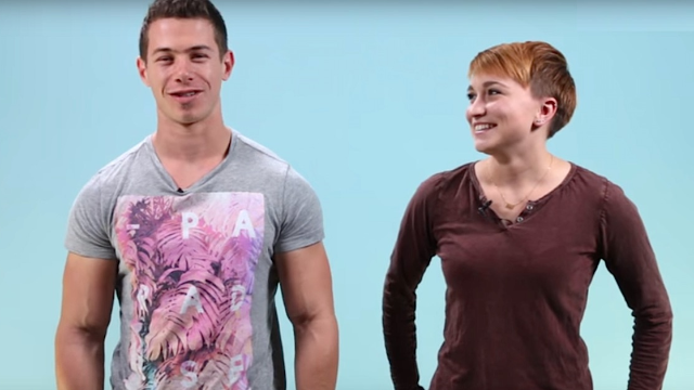 Lesbians Kiss Strange Straight Men For The First Time And Remain Politely Unimpressed