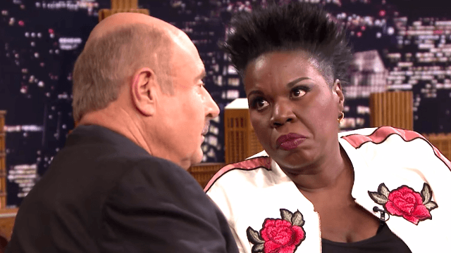 Leslie Jones told the craziest story just to test Dr. Phil's lie detector skills. It got tense.