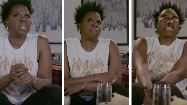 Leslie Jones watched the best 'Game of Thrones' scenes from last week and lost her damn mind.