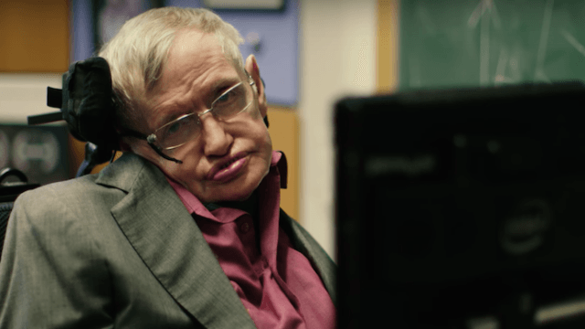 Liam Neeson, Anna Kendrick, and Lin-Manuel Miranda audition to become Stephen Hawking's new voice.