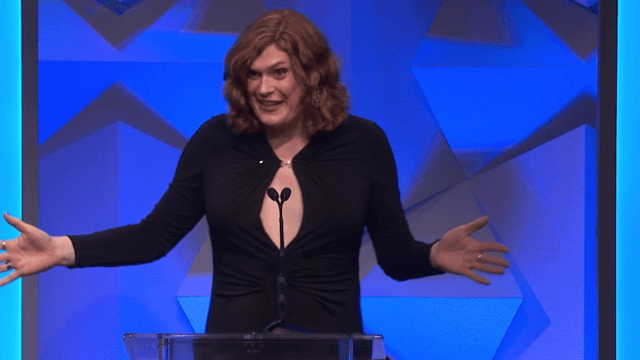 Lilly Wachowski makes her first public appearance as transgender with a wonderfully sarcastic thank you for 'Daily Mail.'
